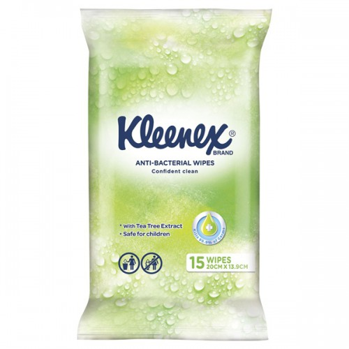 kleenex antibacterial wipes